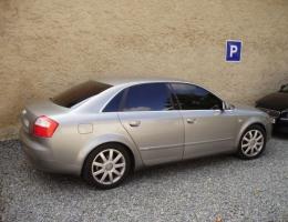 Audi A4 s instalovanymi protislunecnimi autofoliemi Llumar AT5,15