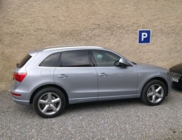 Audi Q5 - protislunecni autofolie Llumar ATR15,35