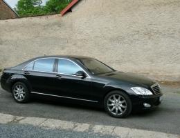 Mercedes Benz S instalace protislunecni autofolie Llumar AT35