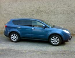 Subaru Tribeca instalace protislunecni autofolie Llumar AT15