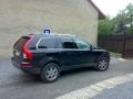 Volvo XC90 instalace protislunecni autofolie Llumar AT5 z.o.15